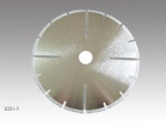Electroplated Segmented Cutting Blade